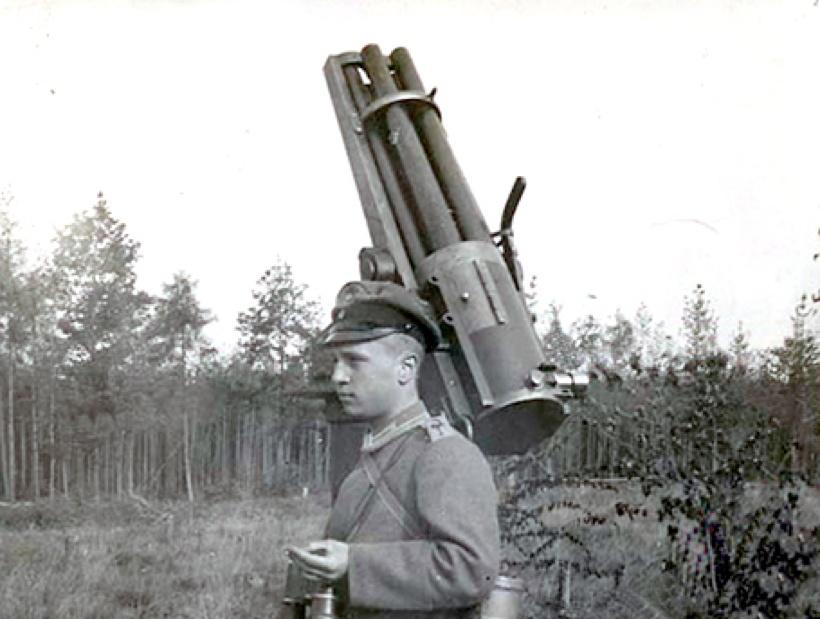 Anti-aircraft Gun Shell as an Anti-aircraft Gun