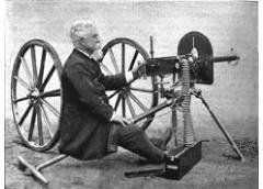 when was the machine gun made
